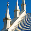 Roof Of Uniting Church At Blue Mountains by Yew Kwang