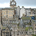 Roofs Of Edinburgh  by Suzanne Oesterling
