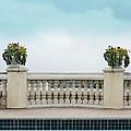 Rooftop Pool by Jill Battaglia