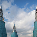 Rooftop Towers At Museum Of Technology by Panoramic Images