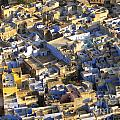 Rooftops In India by Tim Hester