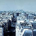 Rooftops Of Paris - Selenium Treatment by Thomas Marchessault
