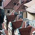 Rooftops Of Prague In Czechia Europe by Stephan Pietzko
