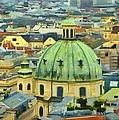 Rooftops Of Vienna by Jeffrey Kolker