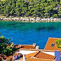 Rooftops Sea And Stone Islands by Brch Photography