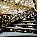Rookery Building Atrium Staircase by Anthony Doudt