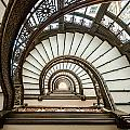 Rookery Building Oriel Staircase by Anthony Doudt