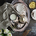 Room Service, Tea Tray With Milk And by Pam Mclean