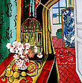 Room With A View After Matisse by Tom Roderick