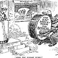 Roosevelt Cartoon, 1908 by Granger