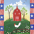 Rooster Americana by Linda Mears