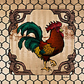 Rooster I by April Moen