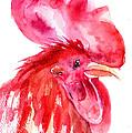 Rooster by Regina Jershova