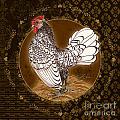 Rooster Silver by Shari Warren
