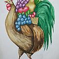 Rooster's Fruit To Go by Kathy Przepadlo