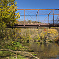 Root River Autumn 3 by John Brueske