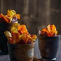 Root Vegetable Crisps by Amanda Elwell