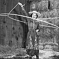 Rope Spinning Actress by Underwood Archives