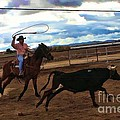 Roping by Tommy Anderson