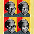 Rosa Parks X4 by Lawrence Hubbs