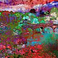 Rose Bridge Landscape by Mary Clanahan