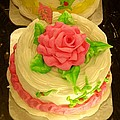 Rose Cakes by Amy Vangsgard