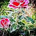 Rose Expressive Brushstrokes by Barbara Griffin