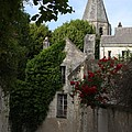 Rose Lane In Loches by Christiane Schulze Art And Photography
