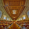 Rose Main Reading Room At The Nypl by Susan Candelario