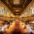 Rose Main Reading Room by Jerry Fornarotto
