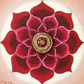 Rose Mandala by Maya B
