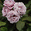 Rose Mosaic 1 by Malcolm-Luther Harkness