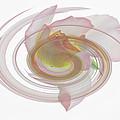 Rose Swirl by James Ekstrom