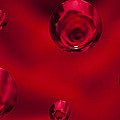 Rose Syrup Abstract 1 B by John Brueske