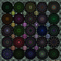 Rose Window Kaleidoscope Quilt by Ann Stretton