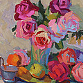 Roses And Apples by Diane McClary