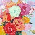 Roses And Ranunculus 2011 by Elinor Fletcher