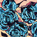 Roses For A Blue Lady  by Wendy J St Christopher