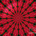 Roses Kaleidoscope Under Glass 24 by Rose Santuci-Sofranko