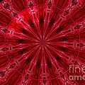 Roses Kaleidoscope Under Glass 26 by Rose Santuci-Sofranko