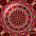 Roses Kaleidoscope Under Glass 30 by Rose Santuci-Sofranko