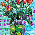 Roses With Apples by Candace Lovely