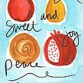 Rosh Hashanah Blessings by Linda Woods