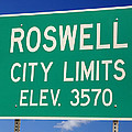 Roswell New Mexico by Bob Pardue