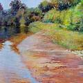 Rosy River by Nancy Stutes
