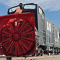 Rotary Snow Thrower 99201 In The Colorado Railroad Museum by Fred Stearns