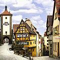 Rothenburg Marketplatz by Sharon Foster