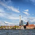 Rotterdam Skyline In Netherlands by Artur Bogacki
