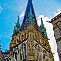 Rouen Church Steeple by Tim G Ross