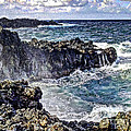 Rough Rocks Near Hana by Flamingo Graphix John Ellis